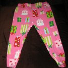 Adorable Pink Pants with Wrapped Present Design by Carters Size 24 mo #X124