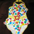 Adorable Multi-Colored Dotted Bathing Suit by B.T. Kids Child Size 4 Nice! #X120