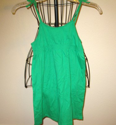 Adorable Kelly Green Dress by Faded Glory Child Size 6-6X New! #X80