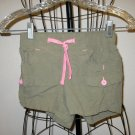 Adorable Khaki Green Cargo Shorts by Old Navy Child Size 6-7 Nice! #X76