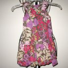 Brown & Pink Floral Dress by Old Navy Child Size 4T Nice! #X64