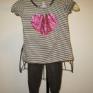 Adorable 2 pc Outfit Brown Pants & Top by Old Navy Child Size 4T Nice! #X40