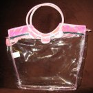 Pink & Clear Kid's Tote Dance Bag by Disney New! #X198