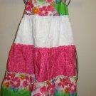 Adorable Pink & White Sundress by Jenny & Me Child Size 6 New! #X172