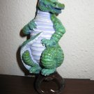 Adorable Green Alligator Bottle Opener 5.5 in NICE! #R06