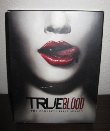 True Blood - The Complete First Season (DVD, 2009, 5-Disc Set) - DVDs #R27