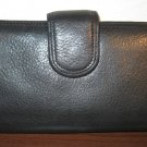 Beautiful Black Genuine Leather Wallet by P & Y New! #D998