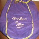 "Collectible Purple Crown Royal Drawstring Bag ""Toast of the Crown 2003"" #R46"