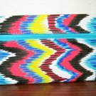Colorful Tie Dyed Design Ipsy Makeup Cosmetic Bag NEW #T1190