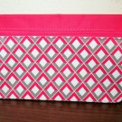 Pink & White Purse Cosmetic Makeup Bag by Ipsy New! #T1145
