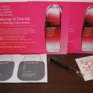 Makeup Travel Samples Shiseido, Living Proof, Estee Lauder, Effervescent New #K66