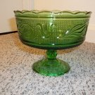 E.O. Brody Green bowl and candy dish