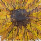 Sunflower original Mixed Media painting