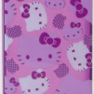 Hello Kitty Clear iPhone 4 Case Purple