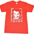 The Smiths Rock Band Printed Men's Custom Red White T-shirt Sz S