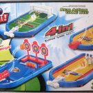 BALL SHOOT! PEAL ACTION GAME SET! 4 IN 1