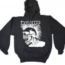 The Exploited  Logo Punk Rock Hooded Sweatshirt  Sweatshirt  Black Sz S