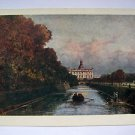 RUSSIAN POST CARD. 1957. The Mikhailovsky Castle in Petersburg by A.P.Bogolyubov