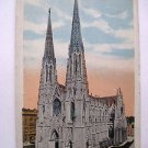 POST CARD. ST. PATRICK'S CATHEDRAL, NEW YORK.