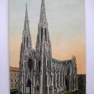 POST CARD. ST.PATRICK'S CATHEDRAL, NEW-YORK.1921.