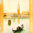 Authentic and Rare Luciano Painting Venecia