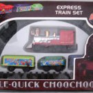 DOUBLE-QUICK CHOOCHOO. EPRESS TRAIN SET. BODE NO.025. BATTERY OPERATED.