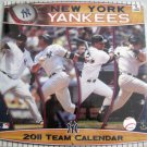 NEW YORK YANKEES 2011 TEAM CALENDAR
