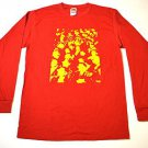 Xray Spex Punk Rock Custom Longsleeve T-shirt Red  Sz M