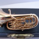 TRUMPET PIN MUSICAL INSTRUMENT LAPEL PIN TIE TACK 1.9""