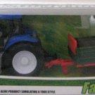 FARM TRACTOR TOY. FARM USE SET. NO.3155. BLUE.