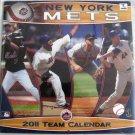 NEW YORK METS 2011 TEAM CALENDAR