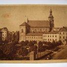 Poland Ukraine Lemberg Saint Bernard's Church Postcard  German Nazi WW2 Stamp