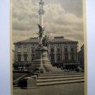 Ukraine Postcard LWOW. LEMBERG. Monument de Adam Mickiewicz. Przedruk wzbroniony