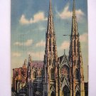 POST CARD. St. Patrick's Cathedral, New York City. By Irving Underhill.
