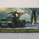 "ARMOURED ROCKET LAUNCHER COMPLETE WITH 3"" ROCKETS NIB"