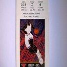 Basketball Ticket Stub KNICKS 1994-95 KNICKS vs BOSTON GAME K29 Mar. 7, 1995