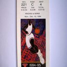 Basketball Ticket Stub KNICKS 1994-95 KNICKS vs MIAMI GAME K9 Dec. 12, 1994
