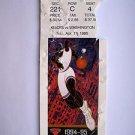 Basketball Ticket Stub KNICKS1994-95 KNICKS vs WASHINGTON GAME K39 Apr. 13, 1995