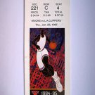 Basketball Ticket Stub KNICKS1994-95 KNICKS vs L.A.CLIPPERS GAME K19 Jan.26,1995