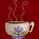 Handmade Ceramic Magnet-Coffee Cup