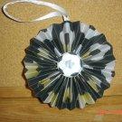 """Handmade Paper Rosette Hanging or Ornament-Soccer-4"""""""