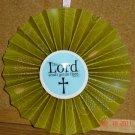 """Handmade Paper Rosette Ornament-Inspirational-5"""""""