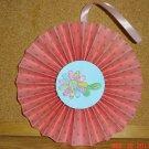 """Handmade Paper Rosette Ornament-Crazy Flower-5"""""""