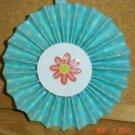 """Handmade Paper Rosette Ornament-Simple Flower-4"""""""