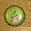 Primitive Kitty Bottlecap Magnet #13