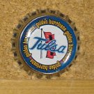 Tulsa University Golden Hurricanes Bottlecap Magnet #1
