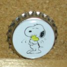 Peanuts and Snoopy Bottlecap Magnet #4