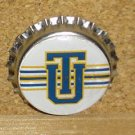 Tulsa University Golden Hurricanes Bottlecap Magnet #2
