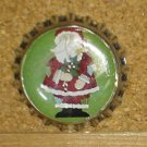 Santa and Snowmen Bottlecap Magnet #4