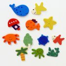 Play Magnets Whale, Fish, Octipus, Starfish Set Of 12